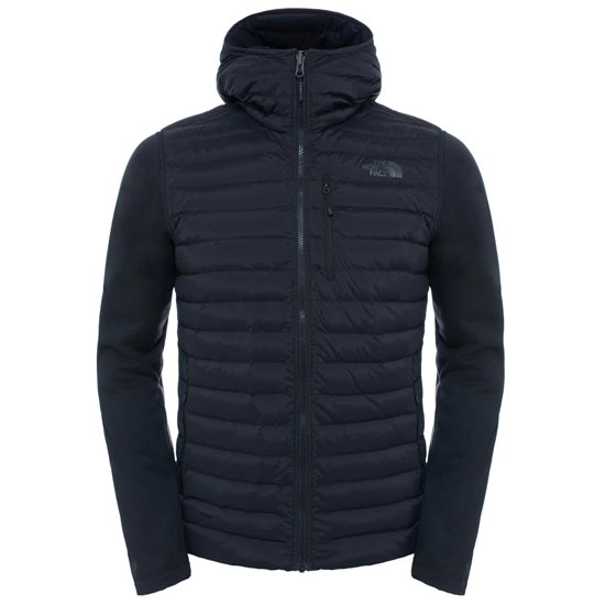 The North Face Trevail Stretch Hybrid Jacket - TNF Black/TNF Black