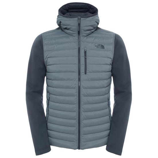 The North Face Trevail Stretch Hybrid Jacket - Fusebox Grey/Asphalt Grey