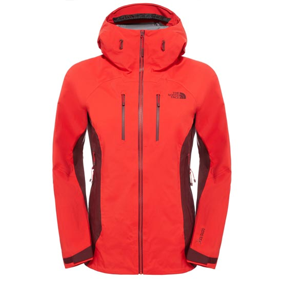 The North Face Dihedral Shell Jacket W - High Risk Red/Deep Garnet Red
