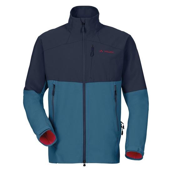 Vaude Roccia Softshell Jacket - Washed Blue