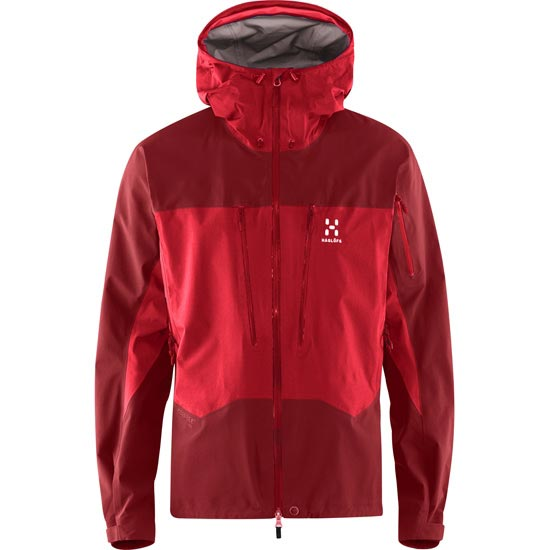Haglöfs Spitz Jacket - Real Red/Rubin