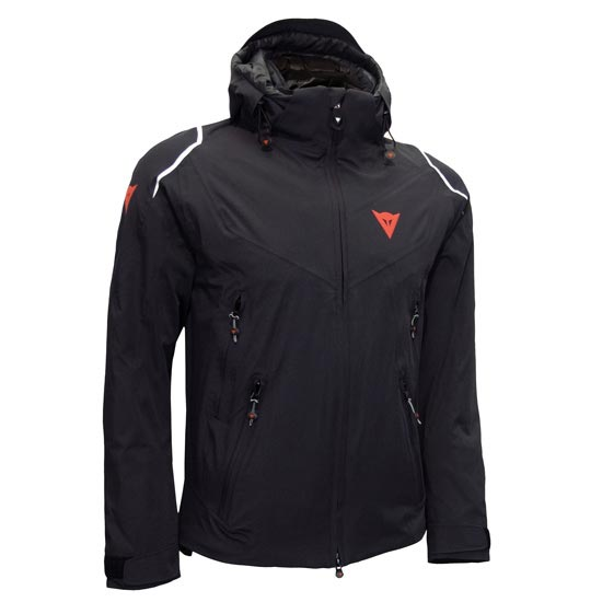 Dainese Skyward D-Dry Jacket - Black/Black/White