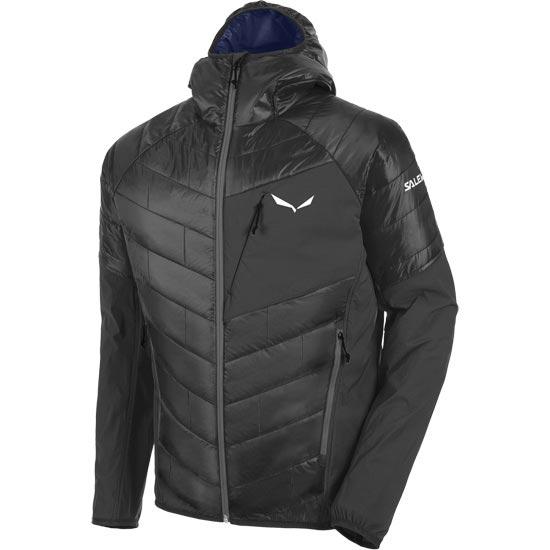 Salewa Ortles Hybrid Tirol Wool Jacket - Black Out