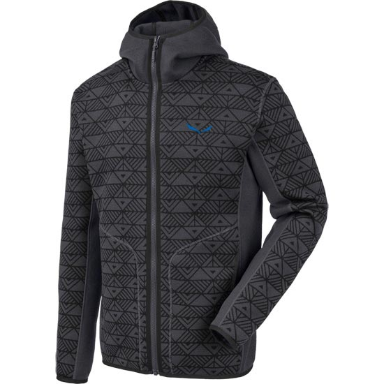 Salewa Puez Printed Hoody - Magnet/Black Out