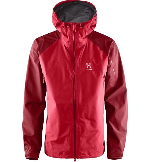 Haglöfs Roc Spirit Jacket - Real Red/Rubin