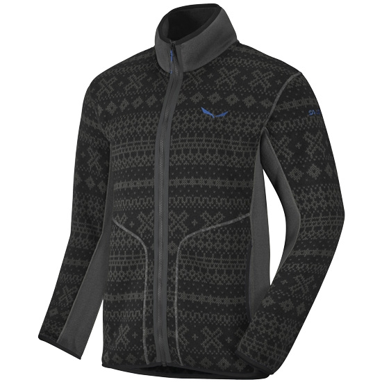 Salewa Lavaze Pl Full Zip - Magnet/Black Out