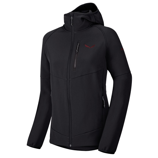 Salewa Puez Full Zip Hoody W - Black Out