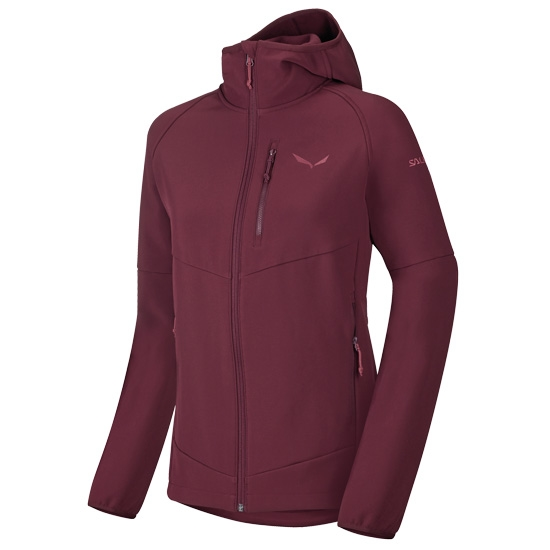 Salewa Puez Full Zip Hoody W - Tawny Port