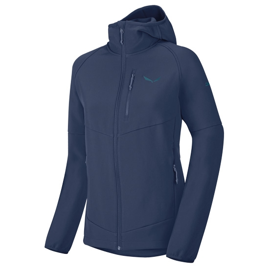 Salewa Puez Full Zip Hoody W - Dark Denim