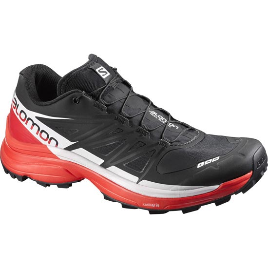 Salomon S-Lab Wings 8 SG - Noir/Rouge