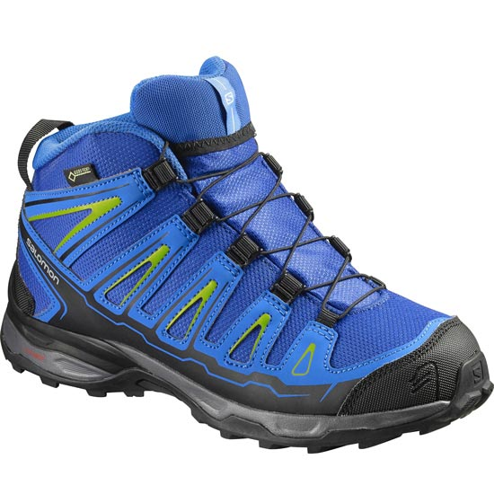 Salomon X-Ultra Mid GTX Jr - Blue Yonder