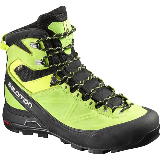 Salomon X Alp Mtn GTX - Black/Green