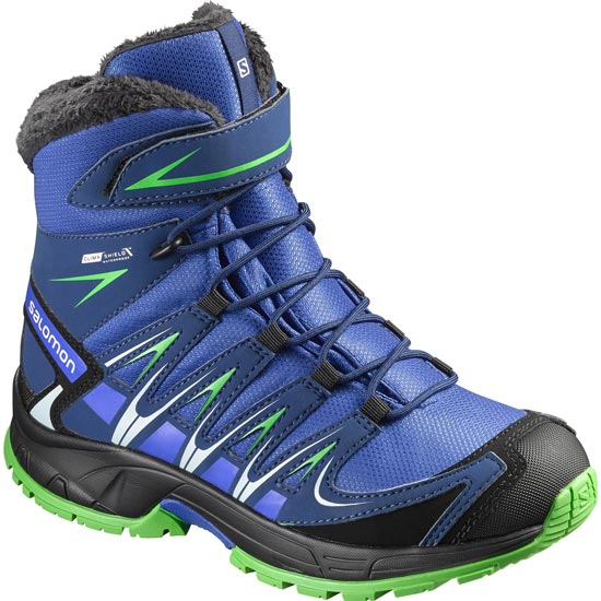 Salomon Xa Pro Winter Ts CSWP Kids - Blue Yonder