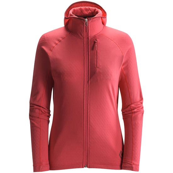 Black Diamond Coefficient Hoody W - Peony