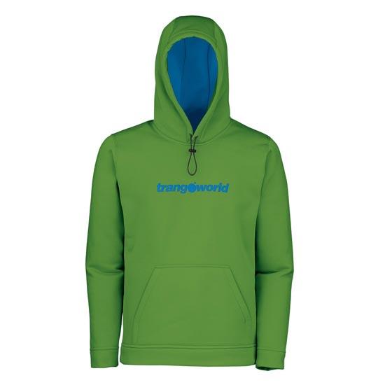 Trangoworld Sweat Login - Verde Online/Azul