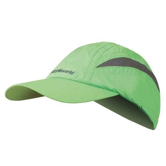 Trangoworld Gorra Civetta Kids - Verde/Antracita