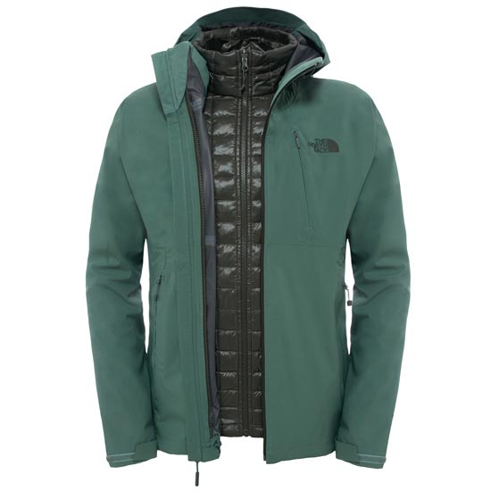 The North Face ThermoBall Triclimate Jacket - Duck Green