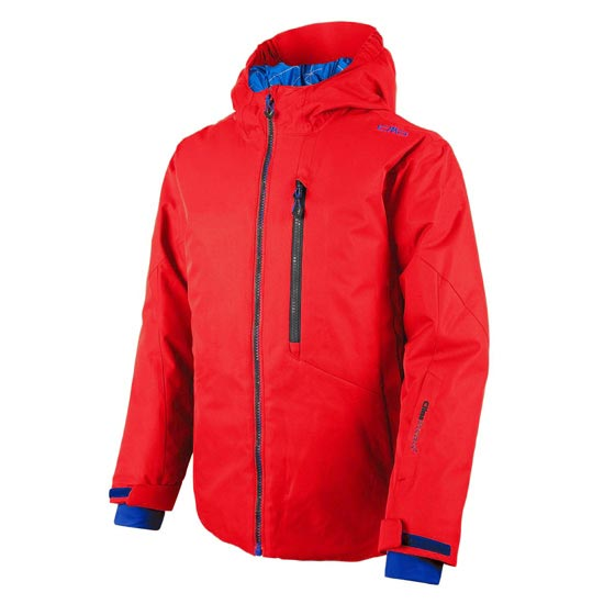 Campagnolo Snaps Hood Jacket Boy - Ferrari/Blue Navy