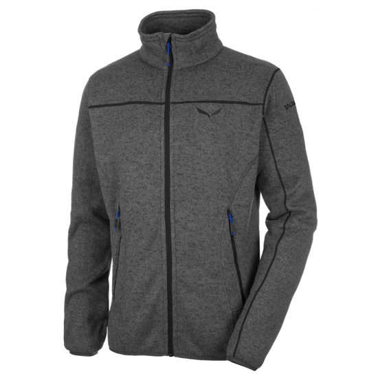 Salewa Rocca Polarlite Full Zip - Asphalt Grey