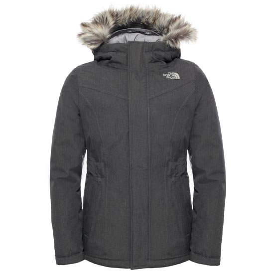 The North Face Greenland Down Parka G - Graphite Grey Heather