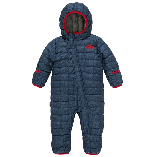 The North Face Infant ThermoBall Bunting Kids - Cosmic Blue Denim Print