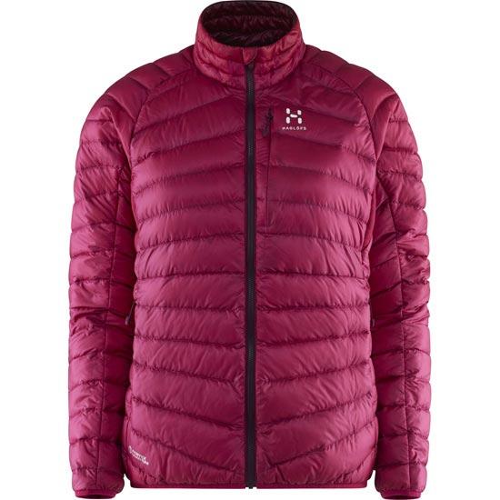 Haglöfs Essens III Down Jacket W - Volcanic Pink/Aubergine