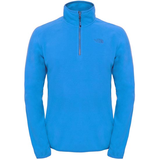 The North Face M 100 Glacier 1/4 Zip - Banff Blue