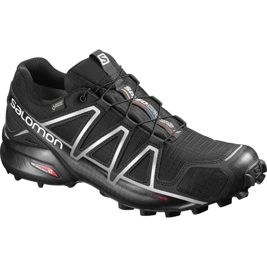 Salomon Speedcross 4 GTX - Black/Silver