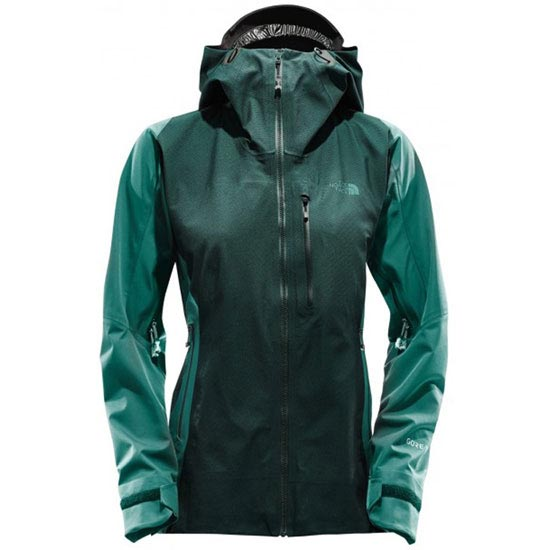 The North Face Summit Summit L5 Shell W - Tnf Black/Conifer T. Jacquard