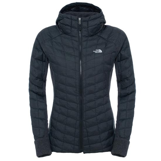 The North Face Thermoball Gordon Lyons Hoodie W - TNF Black/TNF Dark Grey Heather