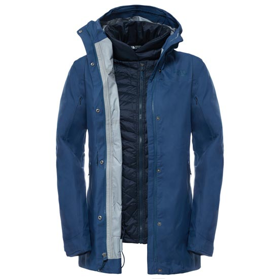 The North Face Biston Triclimate Jacket Femme - Shady Blue