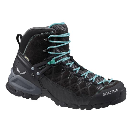 Salewa Alp Trainer Mid GTX W - Black Out/Agata