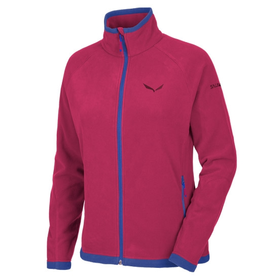 Salewa Rainbow 3 PL Full Zip W - Red Onion