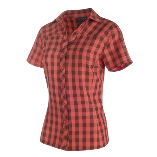 Mammut Aada Shirt W - Marron/Barberry