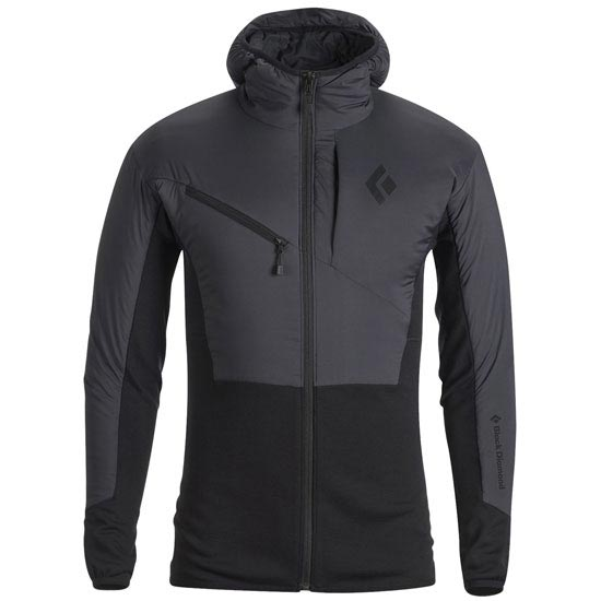 Black Diamond Deployment Hybrid Hoody - Smoke
