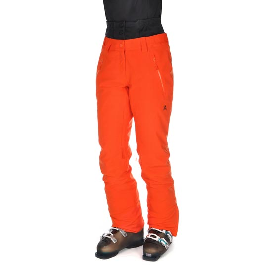 Volkl Black Gold Pants W - Red Orange