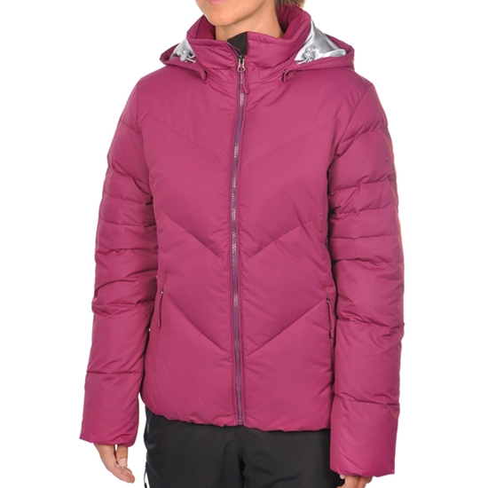 Volkl Silver Down Jacket W - Purple