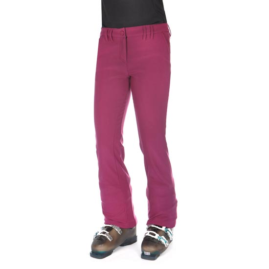 Volkl Silver Softshell Pants W - Purple