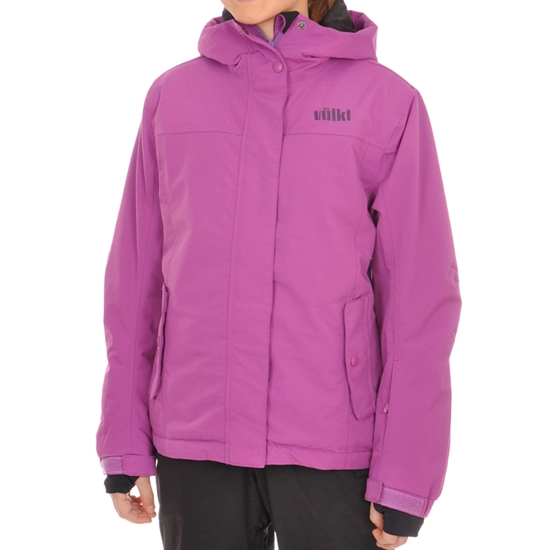 Volkl Girls Starlet Jacket Jr - Wild Purple