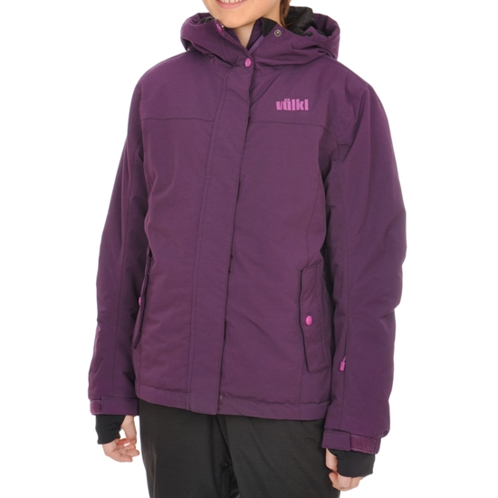 Volkl Girls Starlet Jacket Jr - Blackberry
