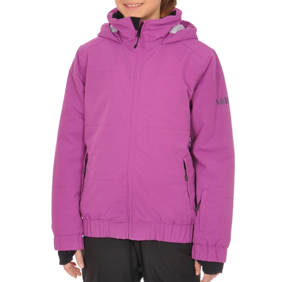 Volkl Girls Logo Jacket Jr - Wild Purple