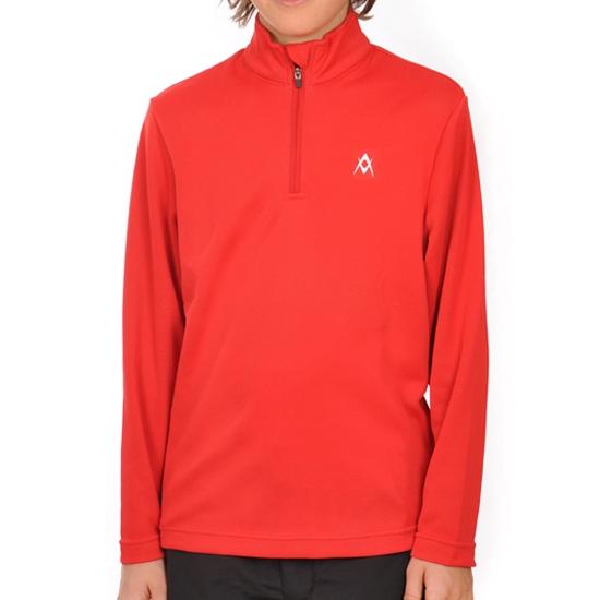 Volkl Ess Zip Shirt Jr - Red