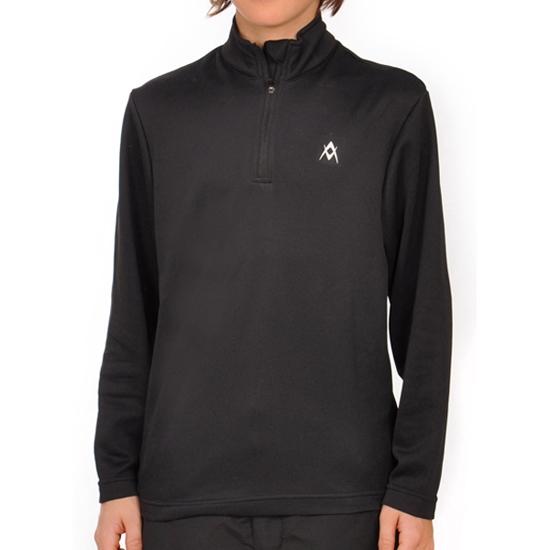 Volkl Ess Zip Shirt Jr - Black