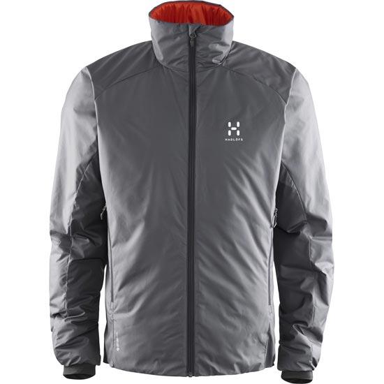 Haglöfs Barrier III Jacket - Magnetite/Habanero