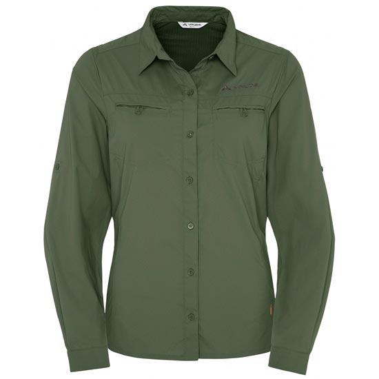 Vaude Farley Ls Shirt W - Cedar Wood