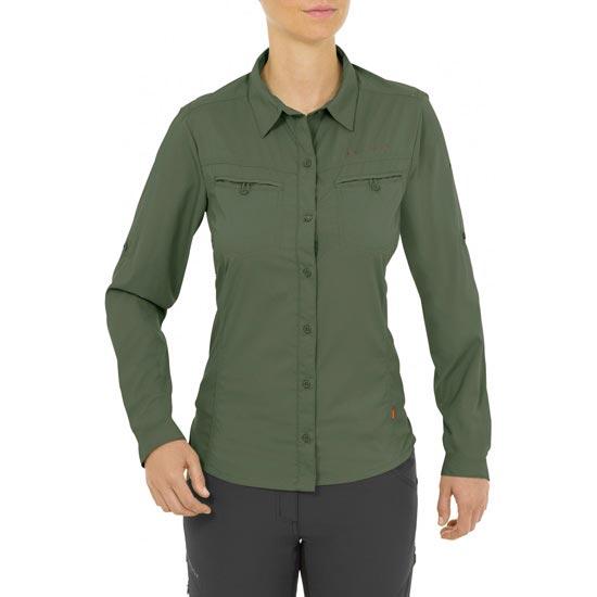 Vaude Farley Ls Shirt W - Photo of detail