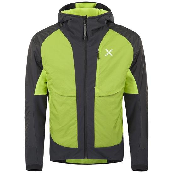Montura Futura Jacket - Negro/Verde ácido