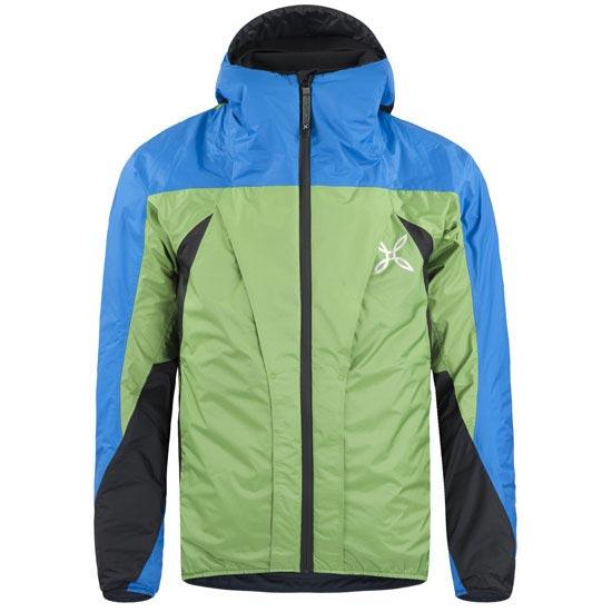 Montura Trident Jacket - Verde/Azul