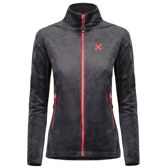 Montura Polar Style Jacket W - Antracita/Coral