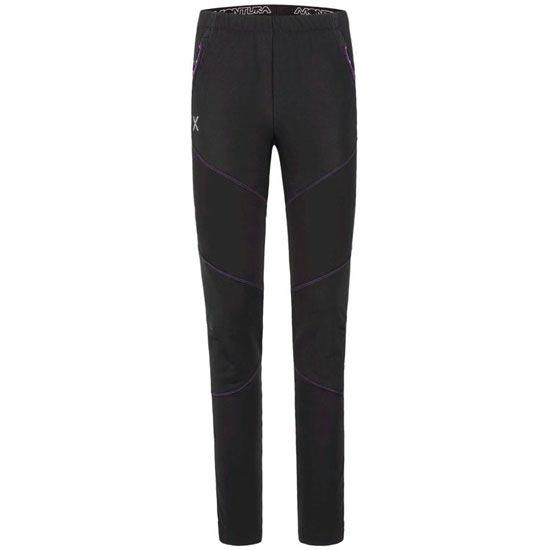 Montura Nordik -5 cm Pants W - Negro/Fucsia